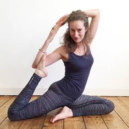 Kathrin Wilde - Yogalehrerin