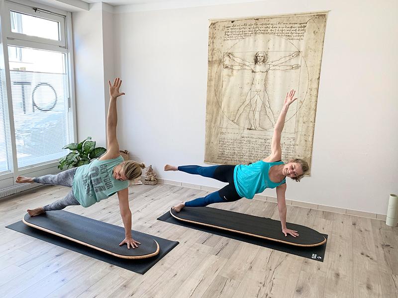 Yoga Balance Board Kurs
